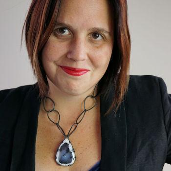 Jewellery designer and creative educator Megan Auman