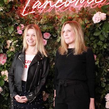 Interior designer Dee Campling and her business partner Lisa Dawson