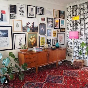The home of interiors influencer Lisa Dawson