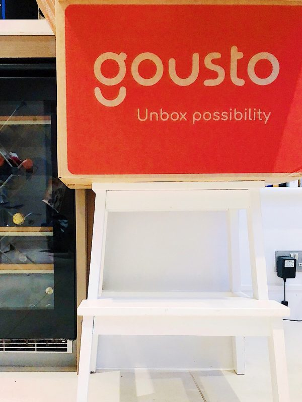 Giving Gousto Recipe Boxes A Go, by Helen Perry @notaboutthekids