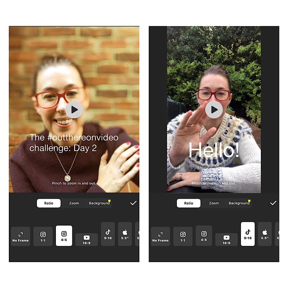Apps for Instagram video
