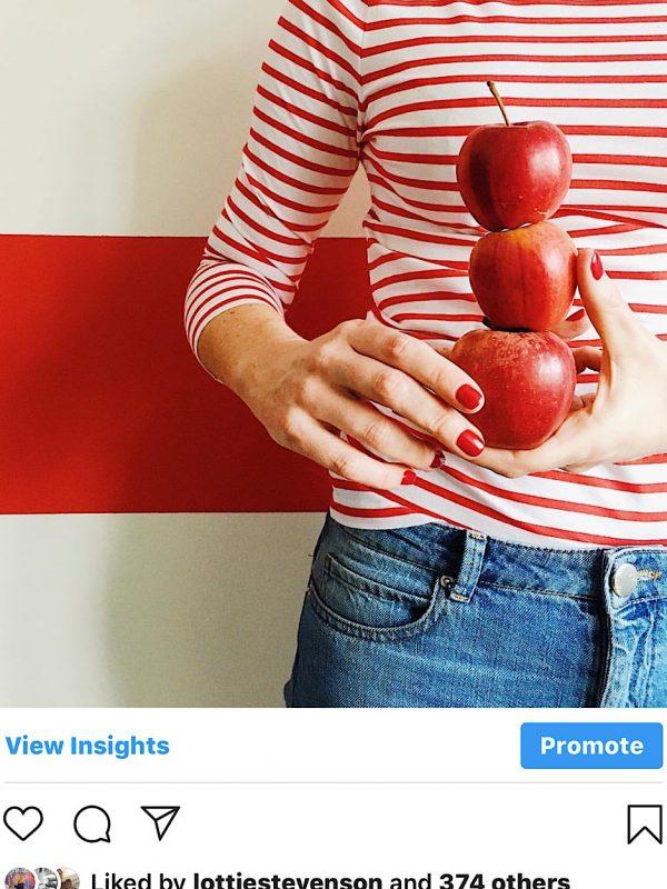 Red, breton, apples